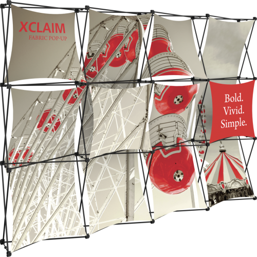Xclaim 10ft Fabric Popup Display Kit 04