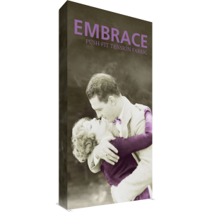 Embrace 5ft Extra Tall Push-Fit Tension Fabric Display